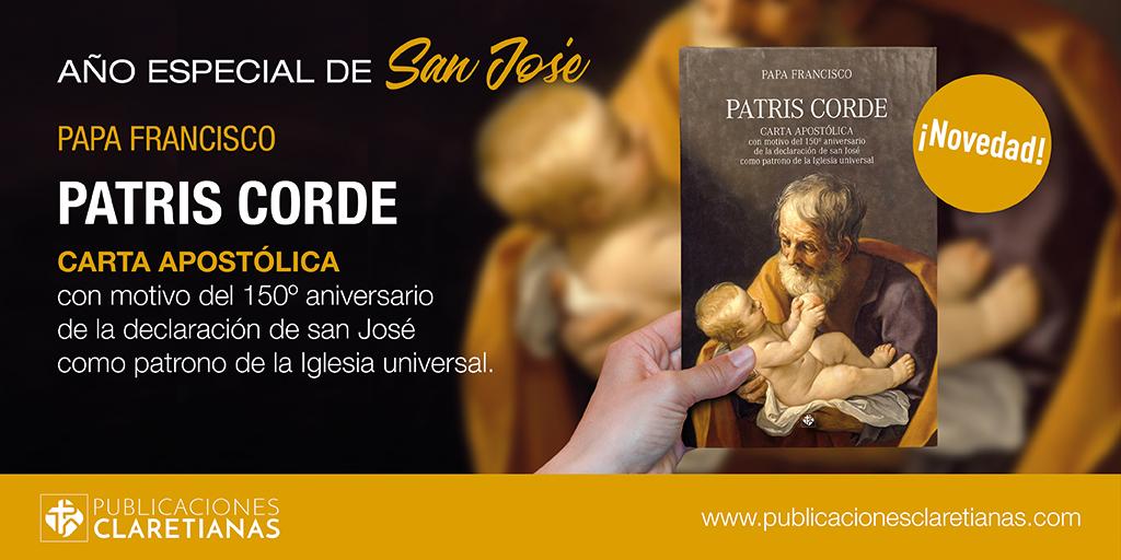 PATRIS CORDE (CARTA APOSTÓLICA DEL PAPA FRANCISCO PARA EL AÑO DE SAN JOSÉ)